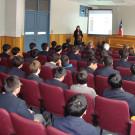 Sitio web se presentó en Liceo de Hombres Manuel Montt